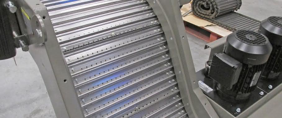 Knoll Maschinenbau Plattenbandförderer