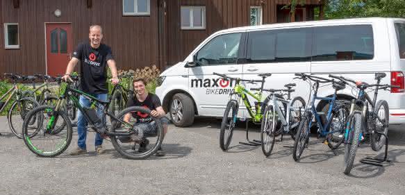 Rental maxon bikedrive team
