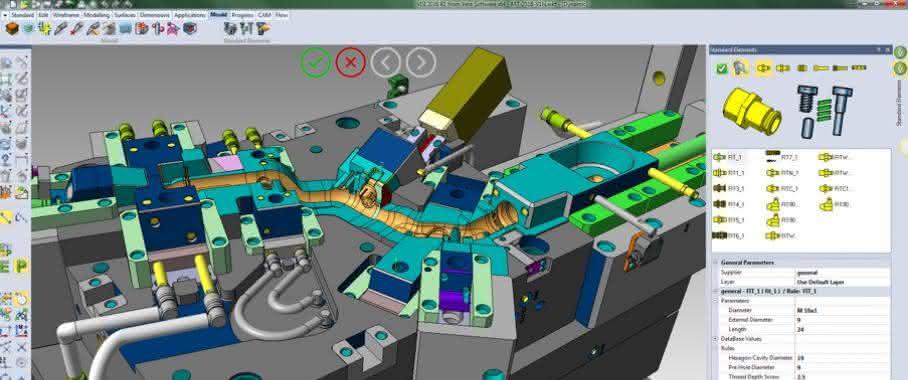 CAD/CAM-Lösung Visi