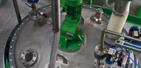 H & S Anlagentechnik: Reaktoranlage für die chemische Umwandlung von PU-Schaumstoff aus Post-Consumer-Matratzen in hochwertige Polyole für den Einsatz in PU-Hartschäumen
