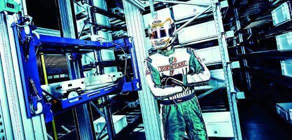 Pankl Racing Systems setzt auf Knapp-Shuttles