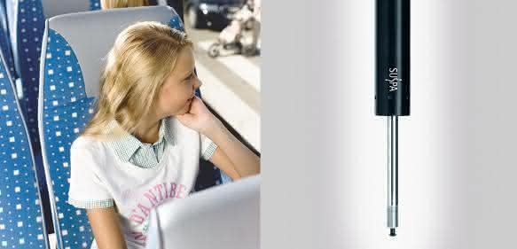 Sitzkomfort durch Gasfedern