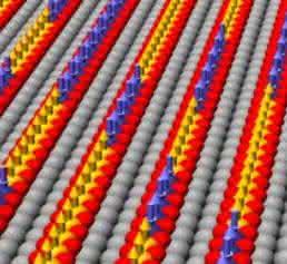 Eindimensionale Atomketten: Magnetische Atome in Reih und Glied