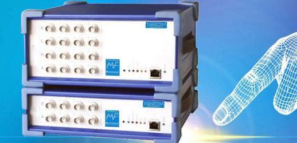Messsystem Trans-Com-Frontend von MF Instruments