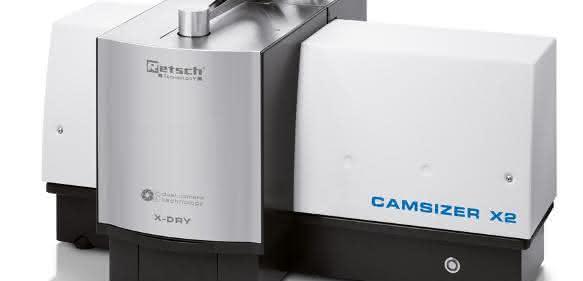 Camsizer X2, die neue Generation des bewährten dynamischen Bildanalysesystems Camsizer XT (Retsch Technology)