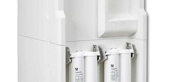 Das neue Elix® Hochdurchsatz-Wasseraufbereitungssystem von Merck bietet Laboren eine zuverlässige Wasseraufbereitungslösung mit täglichen Reinwasservolumina von bis zu 9000 l.