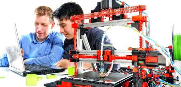 Fischertechnik 3D-Drucker Baukasten