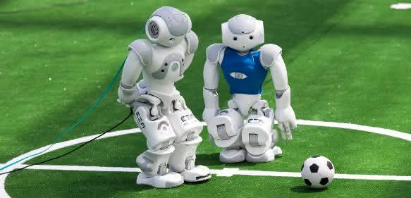 Teilnehmer des RoboCup in der Standard Platform League