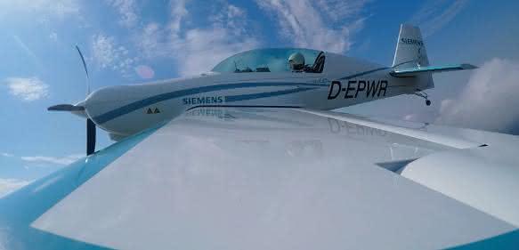 Siemens-Motor fürs Fliegen