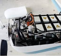 Siemens-Motor flexibel verbaut