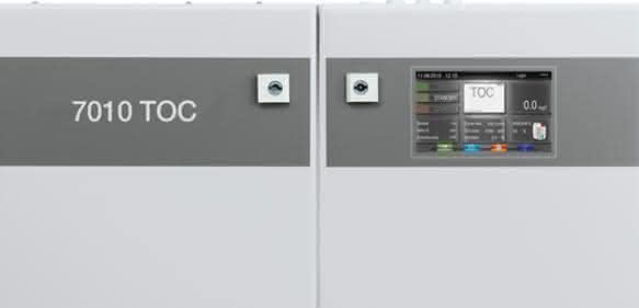 Mit dem 7010 TOC Analyzer lassen sich im Dauerbetrieb sensible Prozessströme wie Heiz- und Kühlkreisläufe überwachen