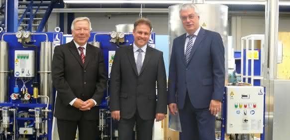 Werner Koslowski, Norbert Strack, Manfred Lehner