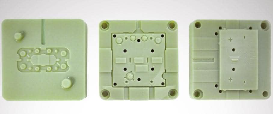3D-gedruckte Spritzgussformen von Stratasys