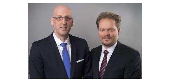 Peter Wilkes (links) und Sascha Hennig übernehmen die Geschäftsführung der Biesterfeld Performance Rubber GmbH.