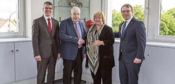 Dr. Jochen Kress, Dr. Dieter Kress, Claudia Haimer, Andreas Haimer