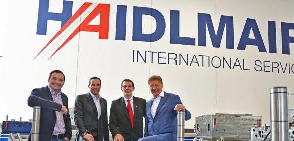 Haidlmair eröffnet neues Servicecenter