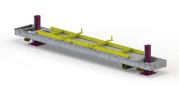 Leantecnik Hub-Senk-Förderer