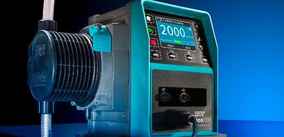 Qdos-Pumpen zeichnen sich durch hohe Präzision und einen besonders geringen Wartungsbedarf aus. Jetzt wurde die erfolgreiche Baureihe um das neue Modell Qdos 120 erweitert. (Foto: Watson-Marlow Fluid Technology Group)