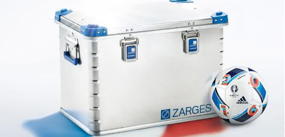 Zarges Eurobox mit Ball