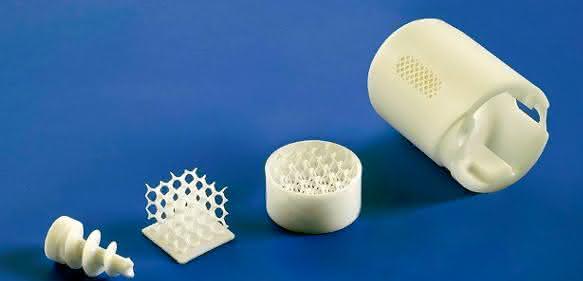 Mit dem LCM-Verfahren hergestellte technische Keramik.