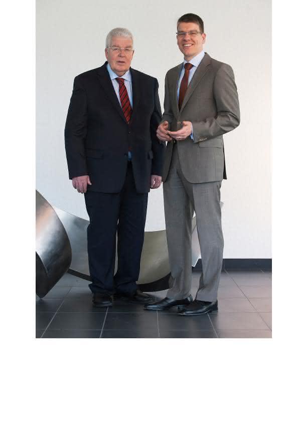 Dieter und Jochen Kress - Mapal Geschäftsleitung