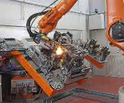 KUKA Industries Lasys Laserschweissen Bauteilfügen mit hoher Schweißgeschwindigkeit