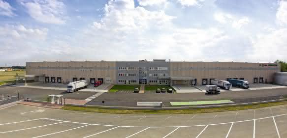 Schaeffler Logistikzentrum Carisio