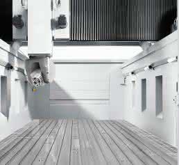Portalfräsmaschinen in Gantry-Bauweise