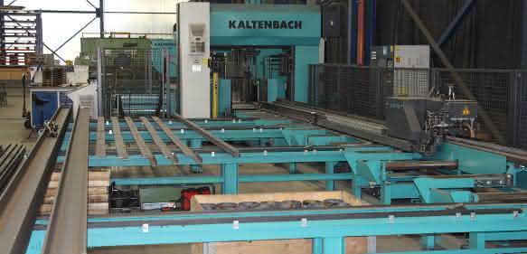 Säge- und Bohranlage Kaltenbach