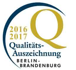 Qualitätsauszeichnung Berlin-Brandenburg