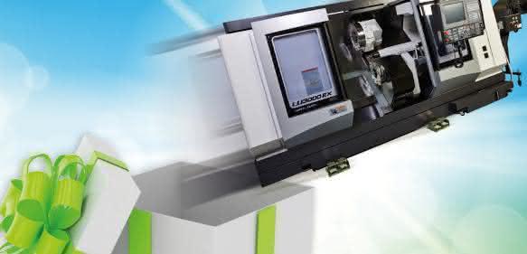 4-Achsen-Drehmaschine Okuma LU3000 EX M 2SC 1000