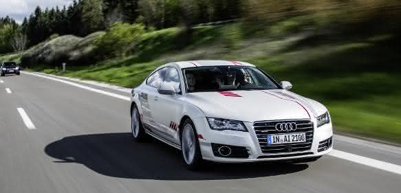"Audi A7 piloted driving concept ""Jack"""