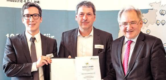 Marco Braun, Andreas Buchdunger, Staatssekretär Peter Hofelich
