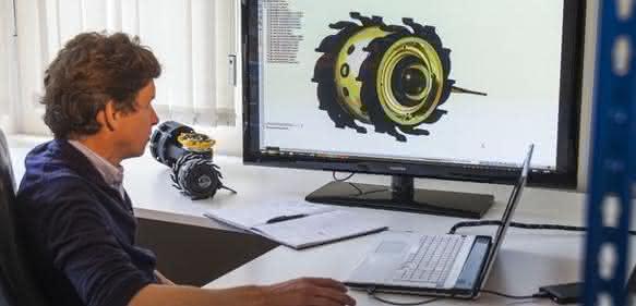 Frisches Denken für industrielle Maschinen.: Der Roboter-Mann