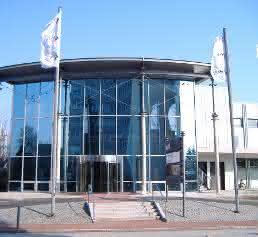 Messehalle in Hamburg-Schnelsen
