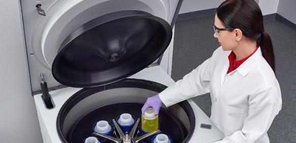 Die neue Thermo Scientific Sorvall BIOS 16 Zentrifuge wurde speziell dafür entwickelt, die Produktivität beim Bioprocessing zu steigern.