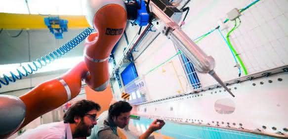 Mensch-Roboter-Kollaboration