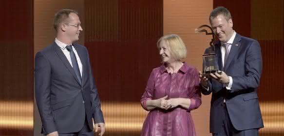 Harting gewinnt Hermes-Award 2016
