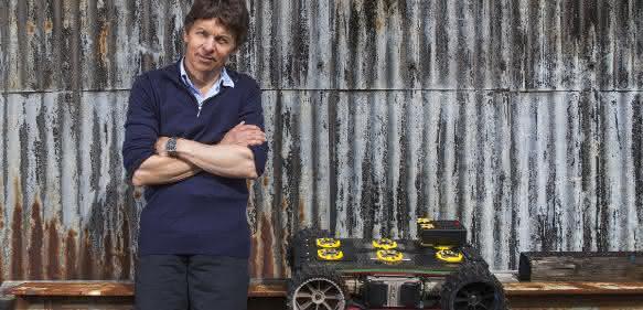 Philip Norman und sein EXTRM SC 2.0 Roboter