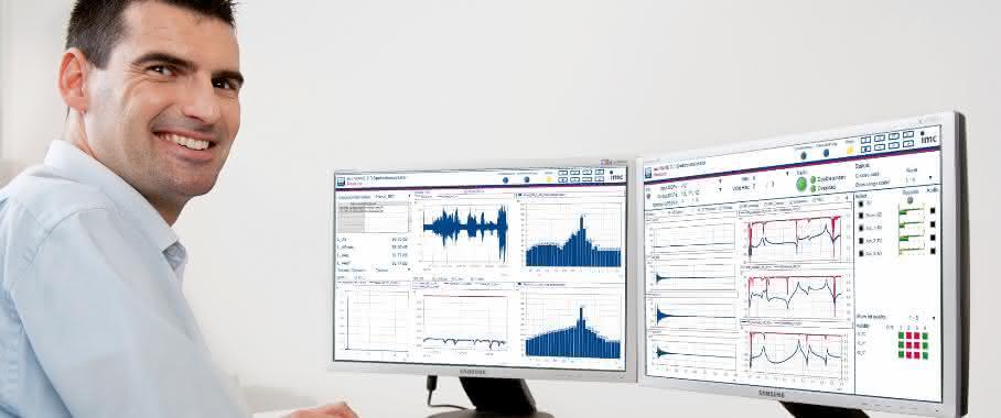 NVH-Analyse mit imc WAVE