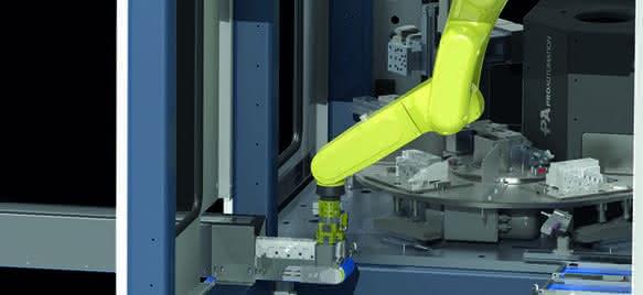 Roboterzelle Pro Switchtest: Leistungsschalter schnell geprüft