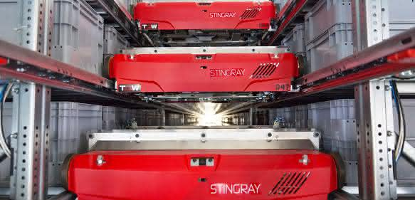 TGW Stingray Shuttle-System