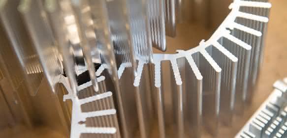 Aluminiumkomponenten von Aluline