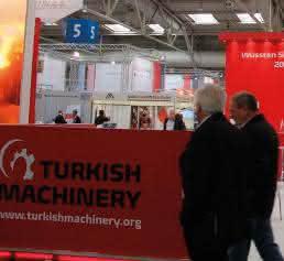 Export-Organisation Turkish Machinery (TM) auf der HMI