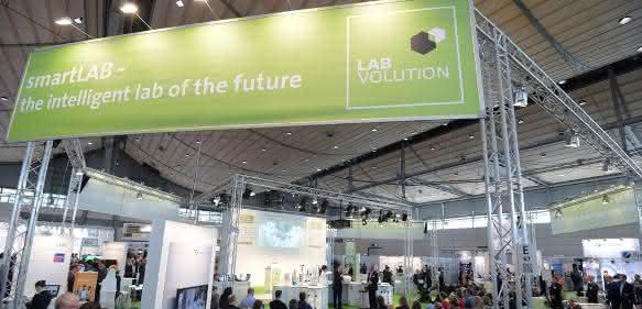 Sonderschau SmartLab auf der Labvolution 2015
