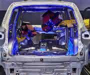 automatisierte Karosserie-Inspektion GOM
