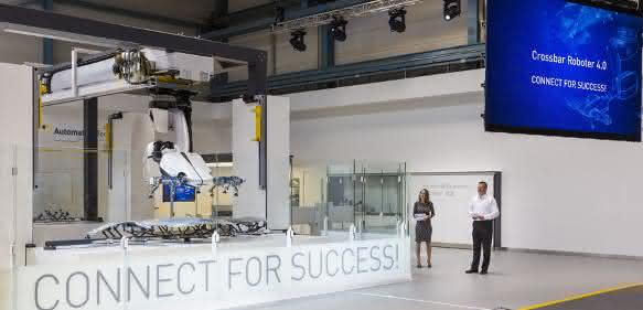 Dynamischer Energiespeicher von Michael Koch: Crossbar-Roboter mit höherer Leistung