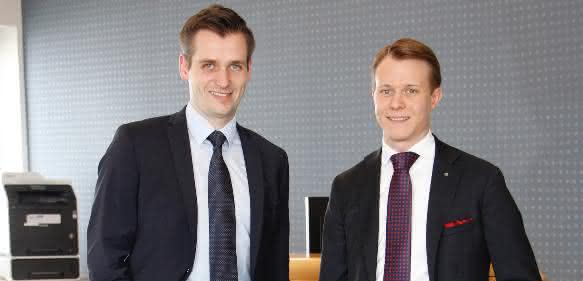Roland Lenzing und Mathias Stendtke
