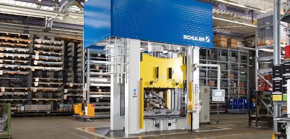 400-Tonnen-Pressen der HPX-Serie von Schuler