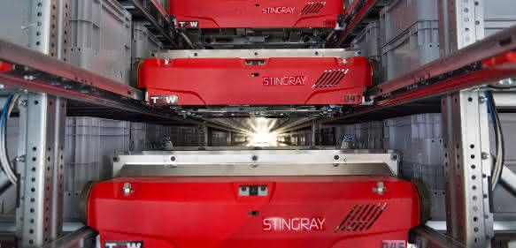 TGW STINGRAY Shuttle-System